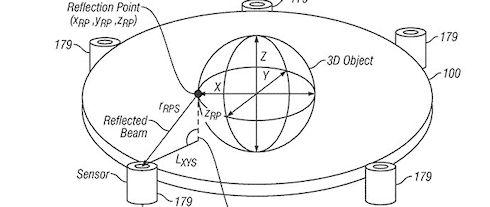 Apple запатентовала технологию создания голографического сенсорного дисплея