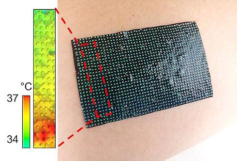 Высокотехнологичный пластырь следит за состоянием здоровья