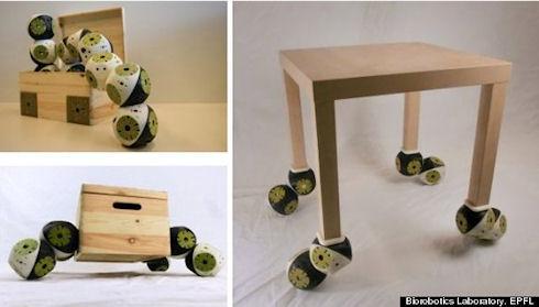 Roombot – робо-мебель уже реальность