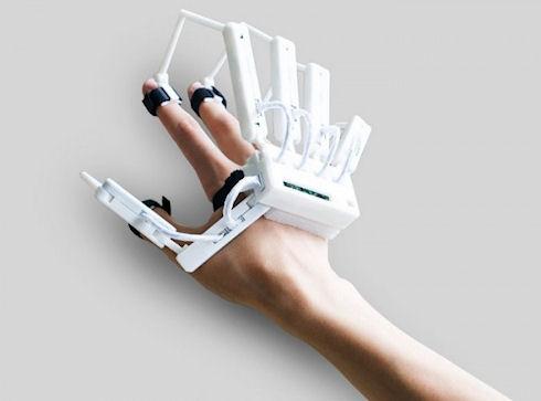 Dexmo – перчатка виртуальной реальности с обратной связью