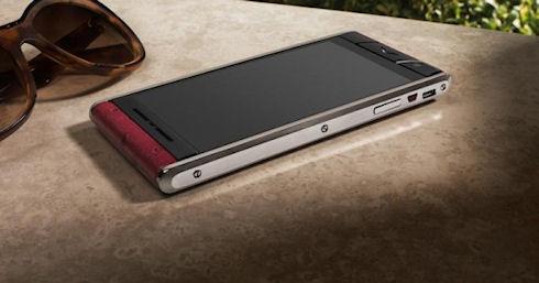 Vertu продает «доступный» смартфон Aster по цене 6900 долларов