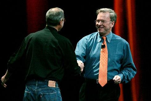 Эрик Шмидт назвал Стива Джобса своим кумиром