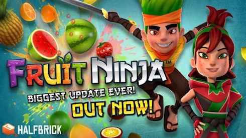 Fruit Ninja 2.0 – эффектный фруто-киллер возвращается