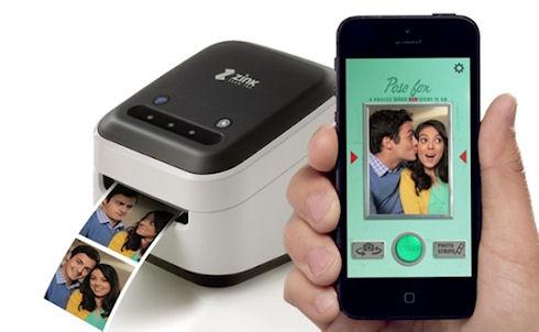 ZINK hAppy – компактный принтер для мобильных гаджетов