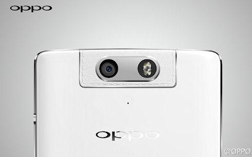 Смартфон N3 от Oppo: поворотная камера и кожаная отделка