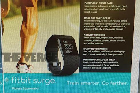 Новинка от Fitbit — «умные суперчасы» Surge