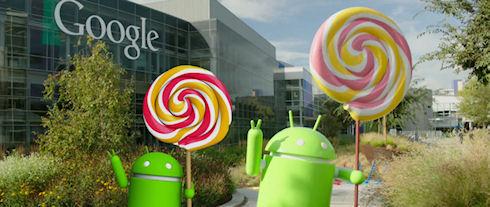 Android 5.0 Lollipop обзавёлся забавной «пасхалкой»