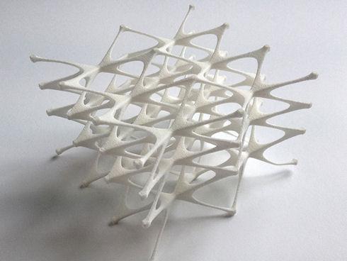 Голландский дизайнер разработала на 3D-принтере кресло, принимающее форму человеческого тела