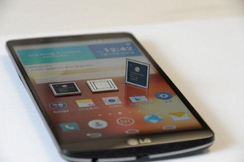 Мощные новинки от LG - чип NUCLUN и смартфон G3 Screen