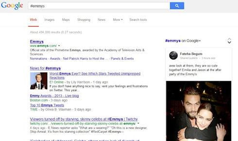 Google ввел функцию поиска по хэштегам