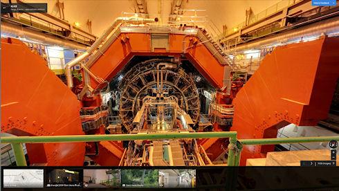 Большой адронный коллайдер можно увидеть в Google Maps Street View
