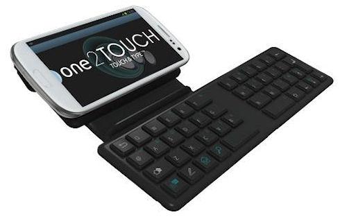 One2Touch Softpad C1 – физическая NFC-клавиатура для смартфонов