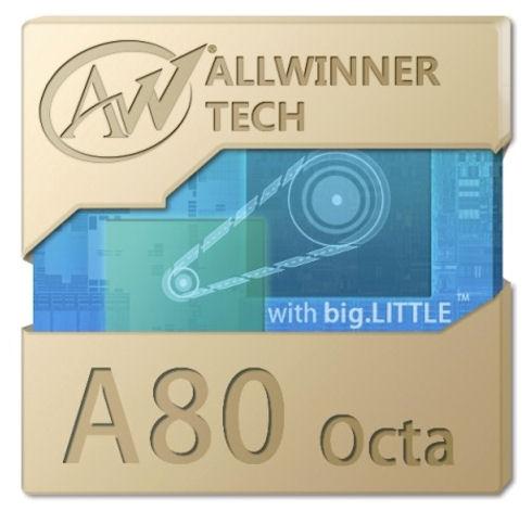 Allwinner A80 Octa – новинка в ряду китайских восьмиядерных процессоров