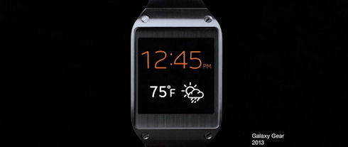 Новая реклама Samsung Galaxy Gear