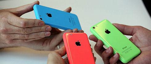 25 октября в России стартуют продажи iPhone 5c и 5s
