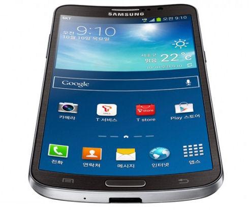 GALAXY Round – смартфон с изогнутым дисплеем