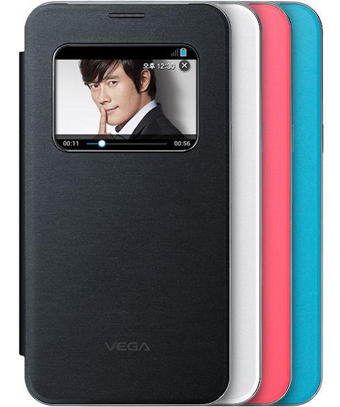 Pantech Vega Secret Note со сканером отпечатков пальцев