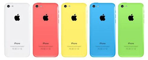 Apple вдвое сократила заказы на iPhone 5c