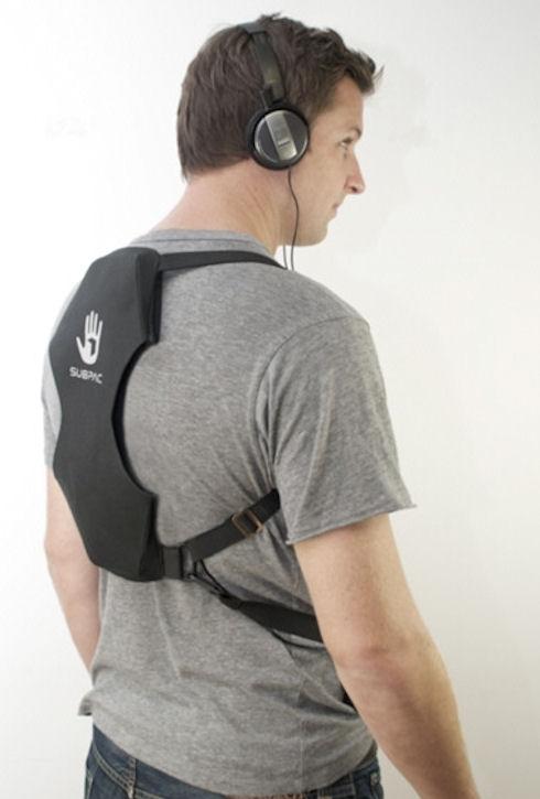 SubPac M1 – звук для тела