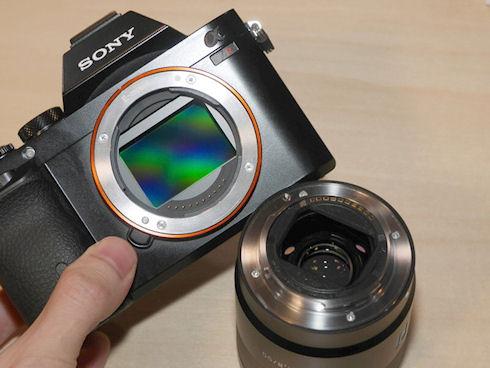 Компактные полноформатные беззеркалки от Sony