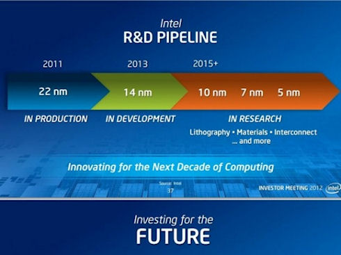 Intel переносит выпуск чипов Broadwell нового поколения