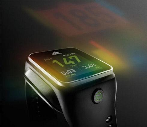 Adidas представит «умные» часы miCoach Smart Run