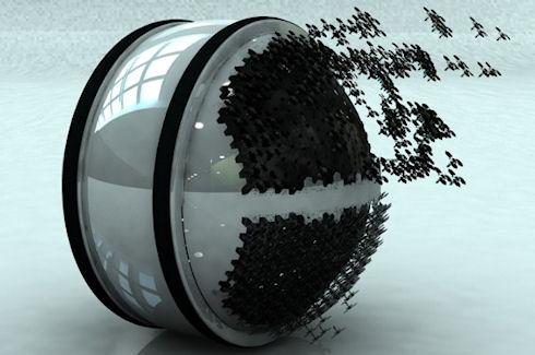 Автоматический уборщик Mab победил на Electrolux Design Lab