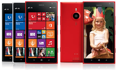 Nokia покоряет размерами: Lumia 1520 с 6-дюймовым дисплеем