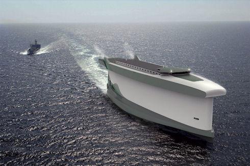 Корабль-парус Vindskip сэкономит до 60% топлива