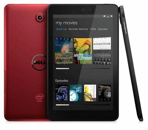 Dell начинает продажи планшетов Venue
