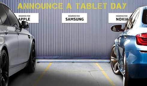 Nokia троллит Samsung, ради чего подружилась с Apple