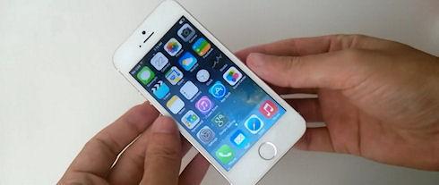 GooPhone i5S – клон iPhone 5s на Android 4.2.2