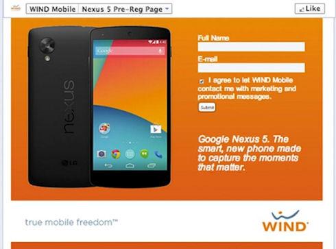 Google Nexus 5 – 349 долларов за 16-гигабайтную версию