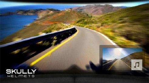 Skully P1 – мотоциклетный шлем с дополненной реальностью
