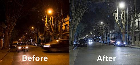 Буэнос-Айрес – город светодиодов