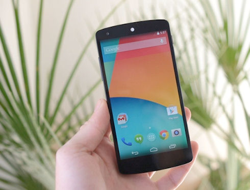 Google Nexus 5 – первый смартфон на Android 4.4 KitKat