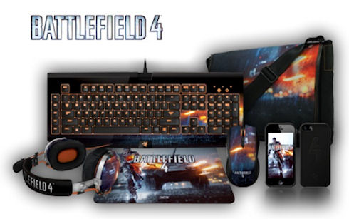 Razer выпустила аксессуары для игры в Battlefield 4