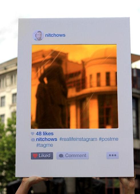 Instagram перенесли в реальность