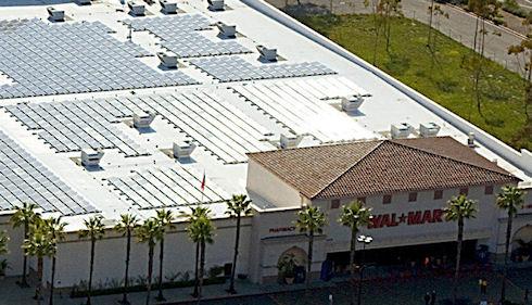 Wal-Mart наращивает «солнечные» ресурсы