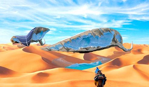 Sunglacier – «ледовый» оазис в пустыне