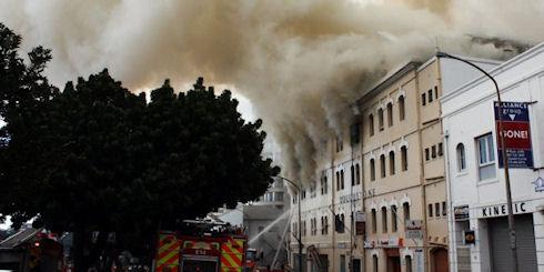 «Архив Интернета» пережил пожар