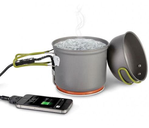 Hammacher Schlemmer – котелок для зарядки смартфонов