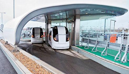 100 автоматических «Ультраподов» дадут старт автономному транспорту в Лондоне