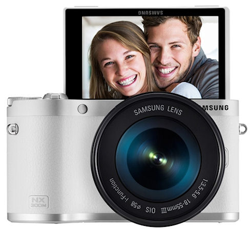 Samsung NX300M – серийная фотокамера на ОС Tizen