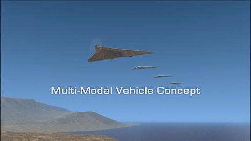 В США создали беспилотный транспорт с функцией трансформации