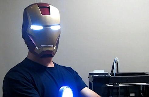 Фанат Тони Старка напечатал шлем Железного человека на 3D-принтере