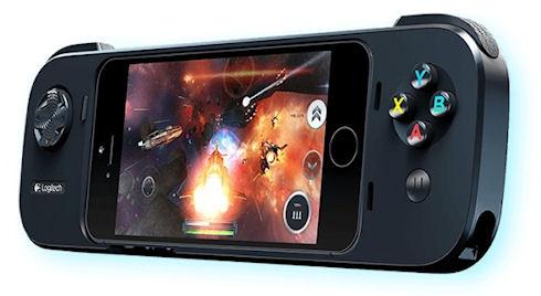 Logitech PowerShell – оригинальный игровой контроллер для iPhone