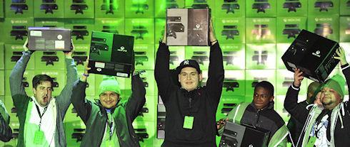Xbox One разошлась миллионным тиражом всего за сутки