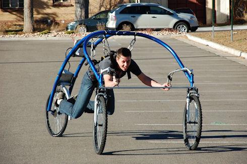 «Парящий» велосипед StreetFlyer