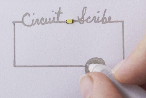 Circuit Scribe – токопроводящая ручка для любителей электроники